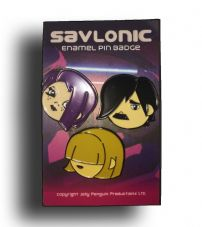 Savlonic Members Enamel Pin Badge Set